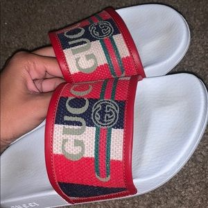 AUTHENTIC Gucci  slides